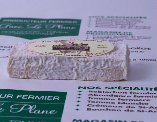 Brique de chèvre nature (lait cru...