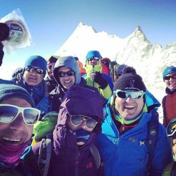 Nouveau sommet pour le reblochon du Gaec Le Plane !   (Bishorn - 4153m)
